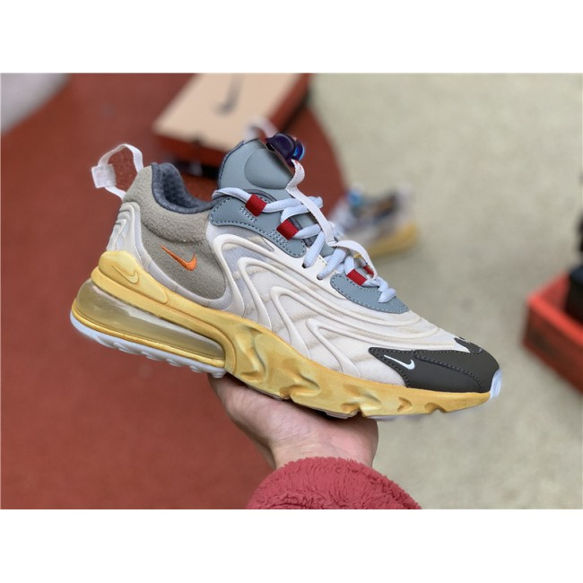 Mens/Womens Travis Scott Nike Air Max 270 React Cactus Trails Shoes