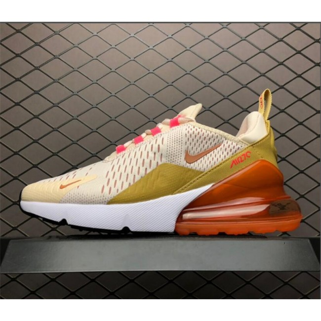 Womens Nike Air Max 270 Cream Tint Guava Ice Terra Blush