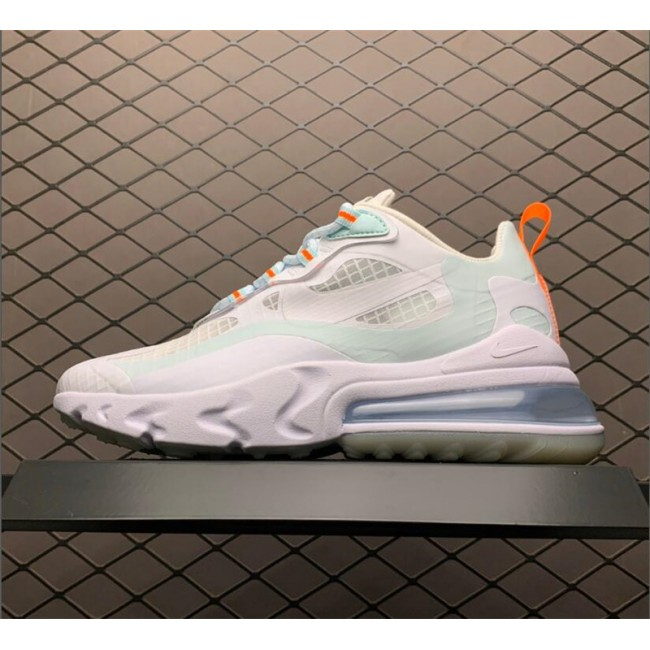 Womens Nike Air Max 270 React SE White Hyper Crimson