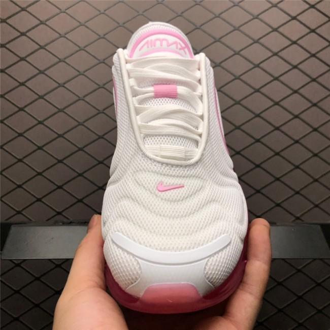 Womens Nike Air Max 720 Pink Rise White Laser Fuchsia