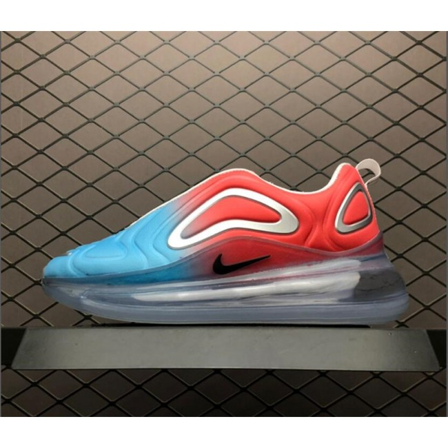 Womens Ladies Nike Air Max 720 Pink Sea Black-Blue