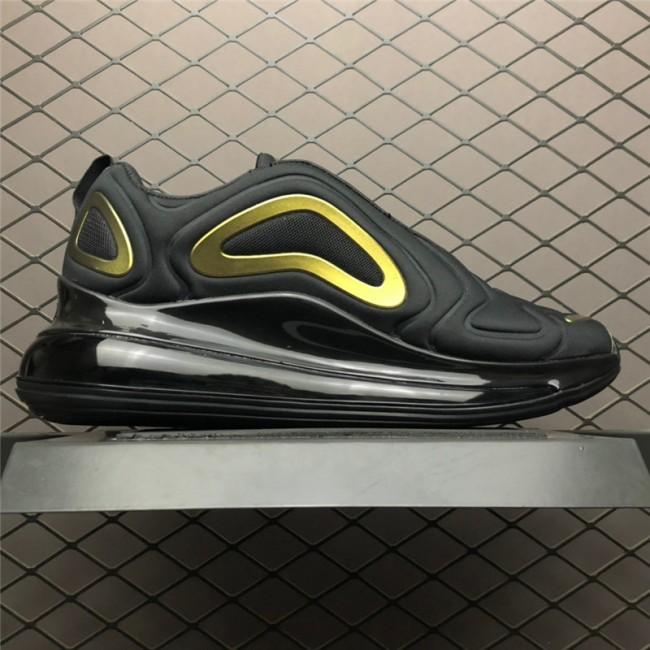Mens Nike Air Max 720 Black Gold AQ2924-011
