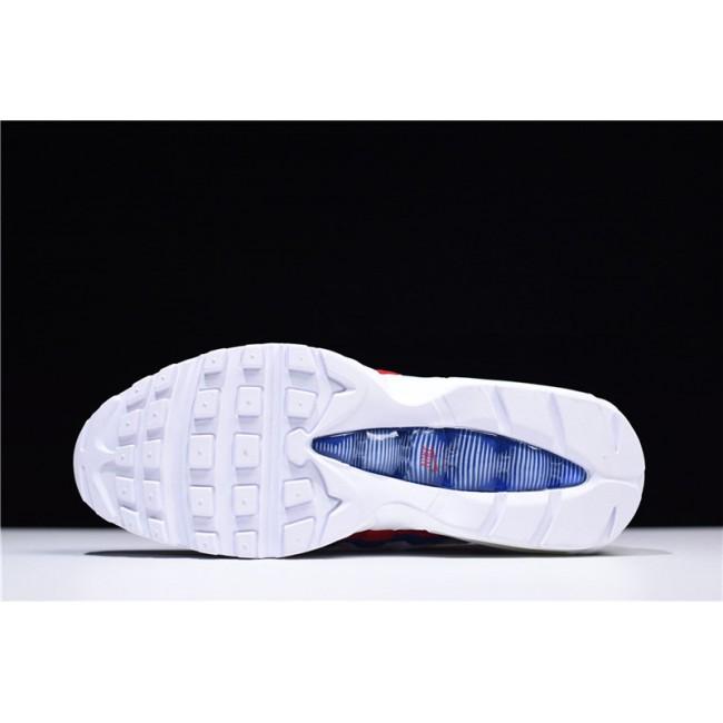 Mens/Womens Nike Air Max 95 Corduroy Green Red-Blue AQ4138-101