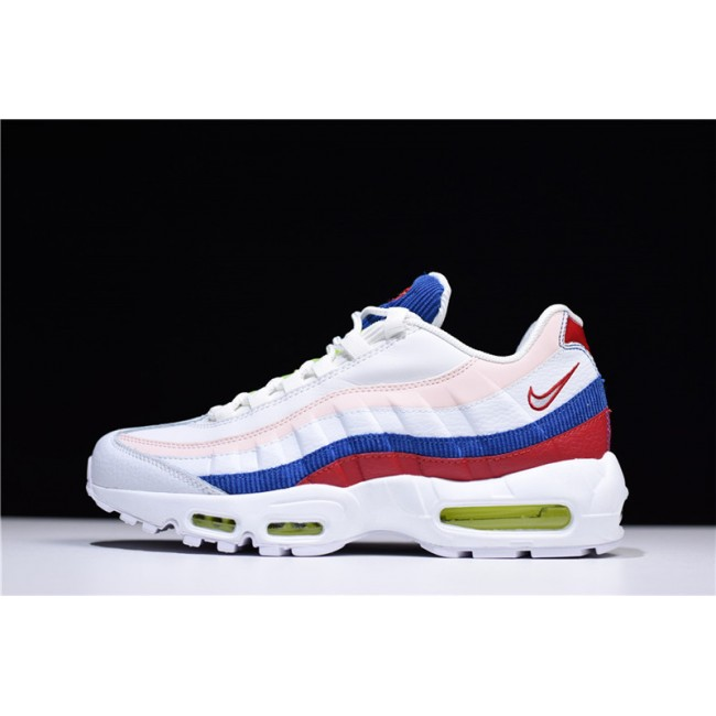 Mens/Womens Nike Air Max 95 Corduroy Green Red-Blue AQ4138-101