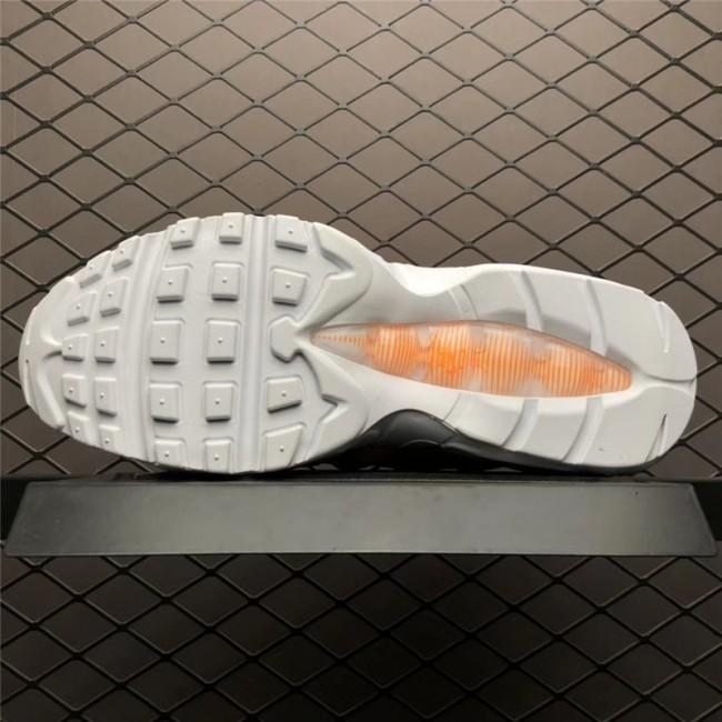 Mens/Womens Nike Air Max 95 Just Do It Total Orange White-Black