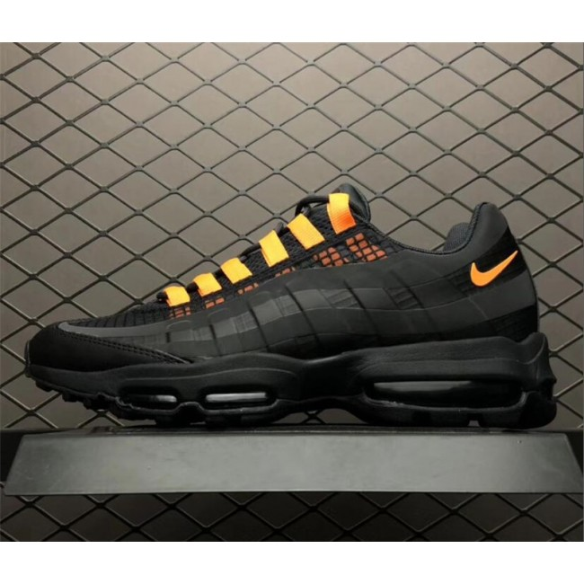 Mens Nike Air Max 95 Ultra SE Noir AO9566-001