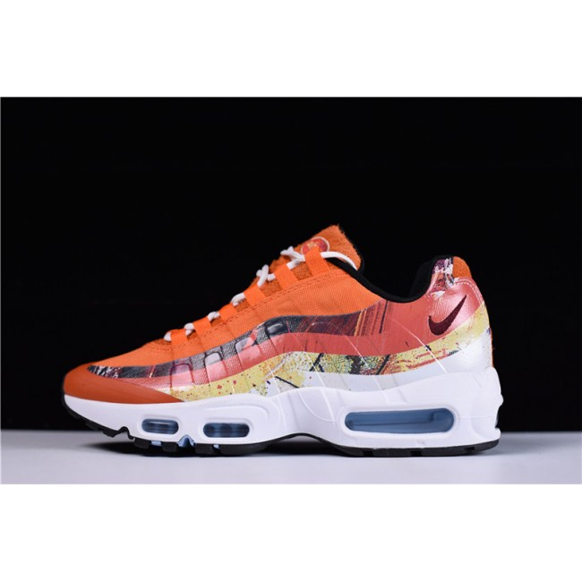 Mens Dave White x Size? x Nike Air Max 95 DW Fox