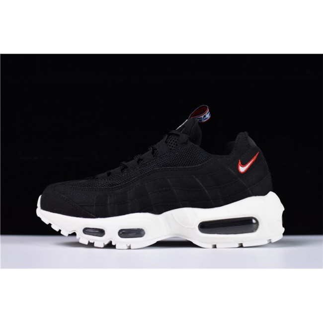 Mens/Womens Nike Air Max 95 Pull Tab Black Rice White