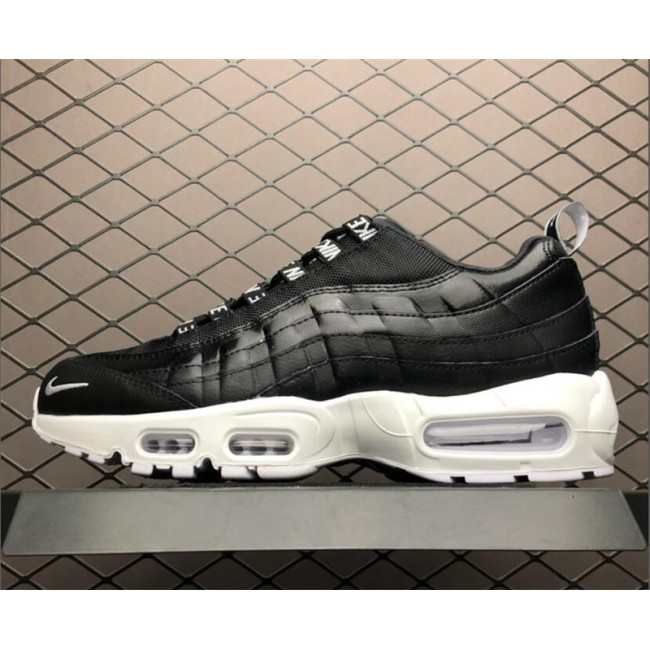 Mens Nike Air Max 95 Premium Black and White