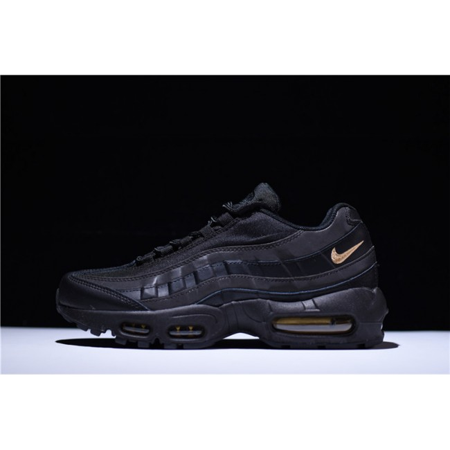 Mens Nike Air Max 95 Premium SE Black Gold