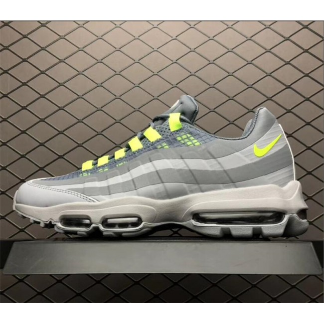 Mens Nike Max 95 Ultra SE Grey Green-White AO9566-002