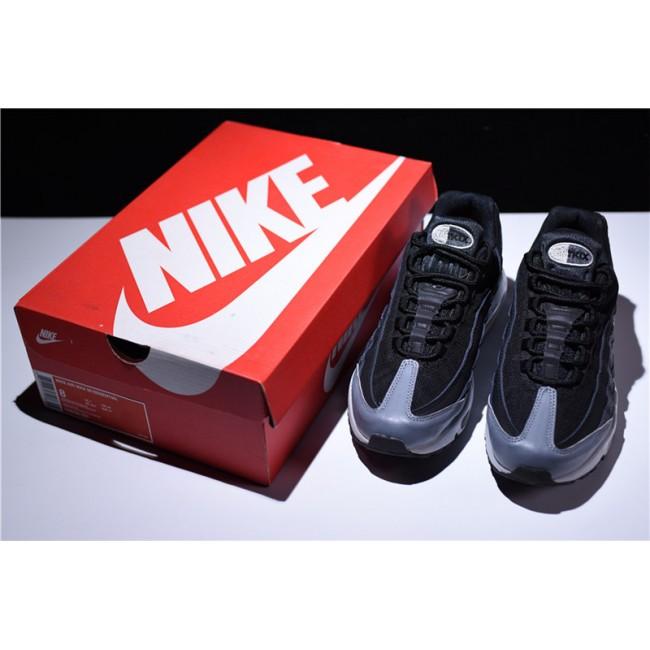 Mens New Arrival Nike Air Max 95 Essential Black Anthracite-Dark Grey
