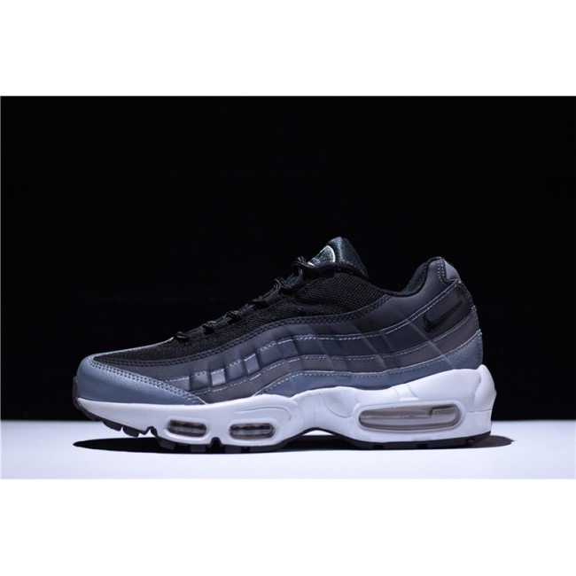 Mens New Arrival Nike Air Max 95 Essential Black Anthracite-Dark Grey