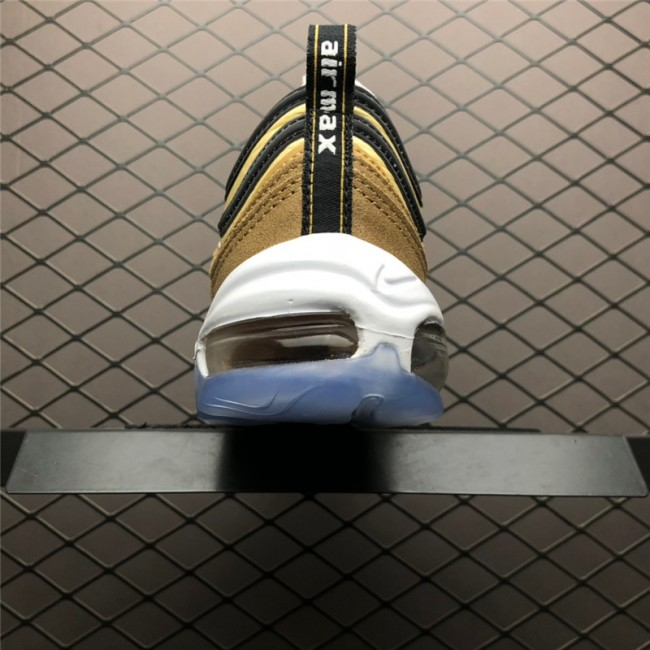 Mens/Womens Nike Air Max 97 Unboxed Ale Brown Black-Elemental Gold