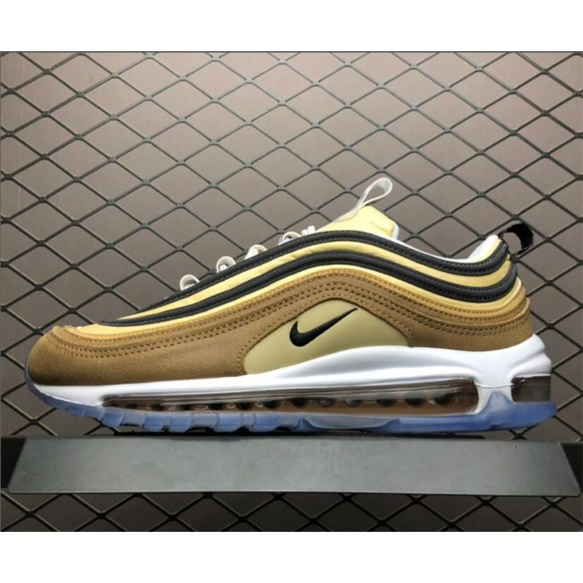 Mens/Womens Nike Air Max 97 Unboxed Ale Brown Black-Elemental Gold