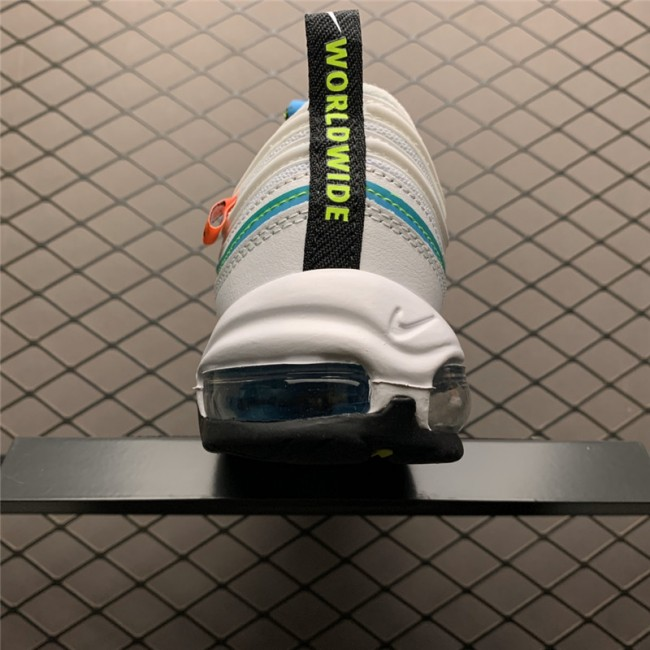 Mens/Womens Nike Air Max 97 Worldwide Blue Volt CZ5607-100