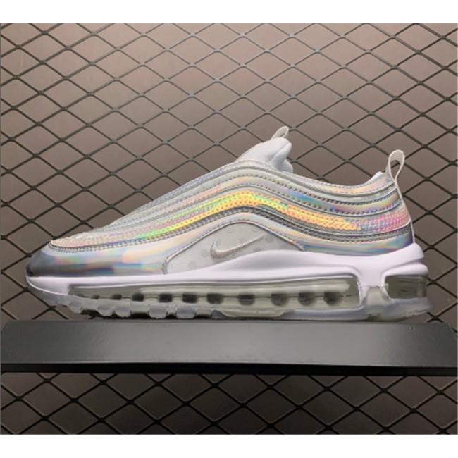Mens/Womens Nike Air Max 97 White iridescent CU8872-196