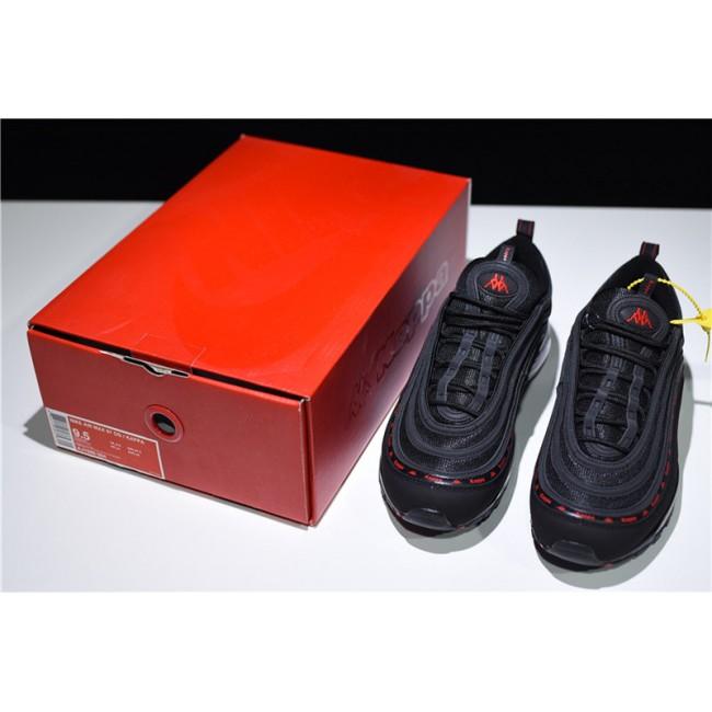 Mens/Womens Kappa x Nike Air Max 97 OG Black Red Online
