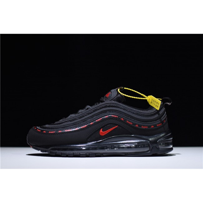 Mens/Womens Kappa x Nike Air Max 97 OG Black Red Online