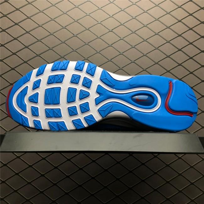 Mens/Womens Nike Air Max 97 Premium Blue Hero 312834-401