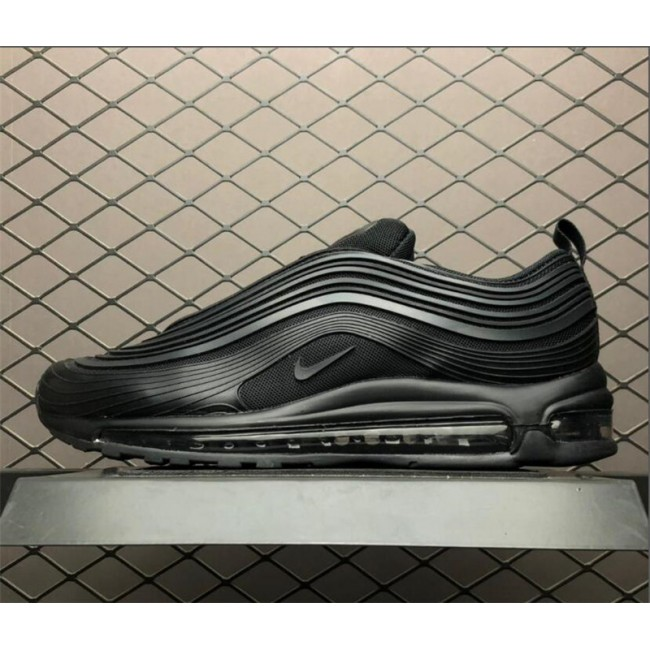 Mens Nike Air Max 97 UL17 PRM Triple Black AH7581-002