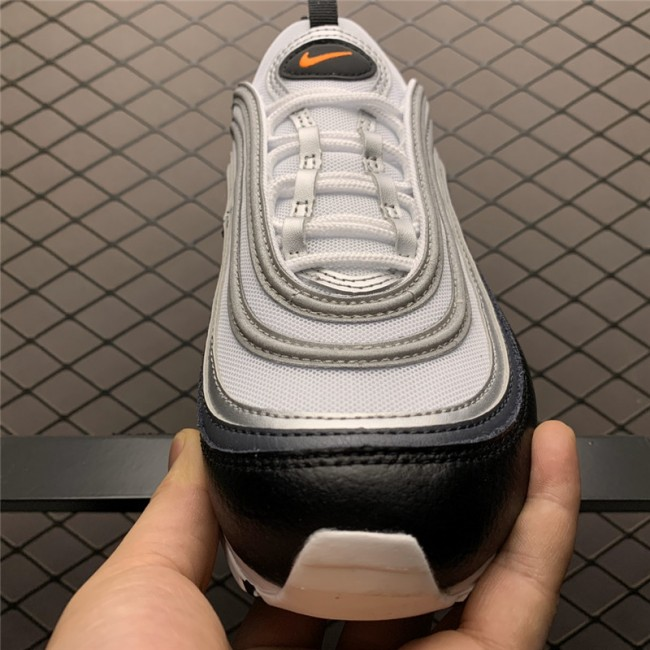 Mens/Womens Nike Air Max 97 Black And Orange Shoes