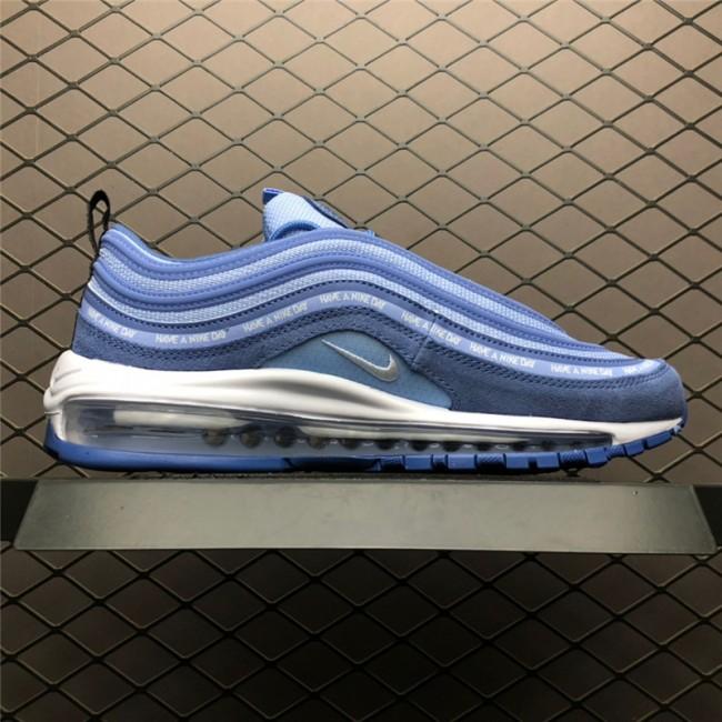Mens/Womens Nike Air Max 97 Have A Nike Day Indigo Storm White Blue
