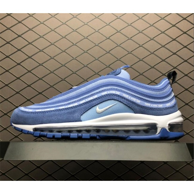 Mens/Womens Nike Air Max 97 Have A Nike Day Indigo Storm White Blue