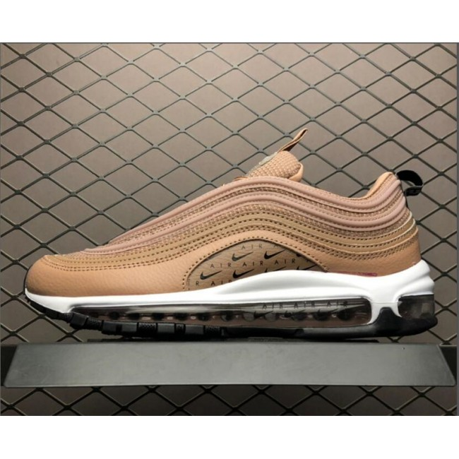 Mens/Womens Nike Air Max 97 Tan Lux Bronze Running Shoes