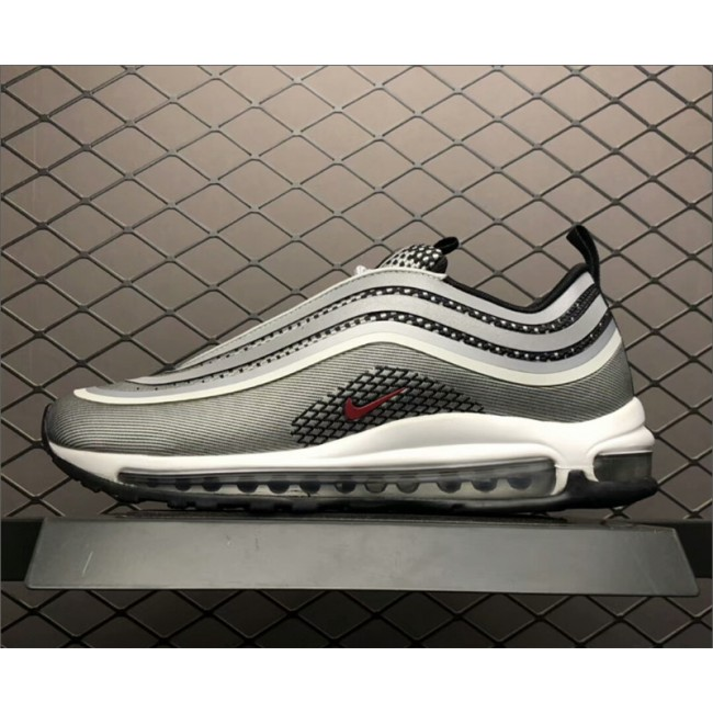 Mens/Womens Nike Air Max 97 Ultra 17 Silver Bullet Metallic Silver Varsity