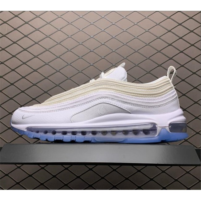 Mens/Womens Nike Air Max 97 White Ice Blue Casual Shoes