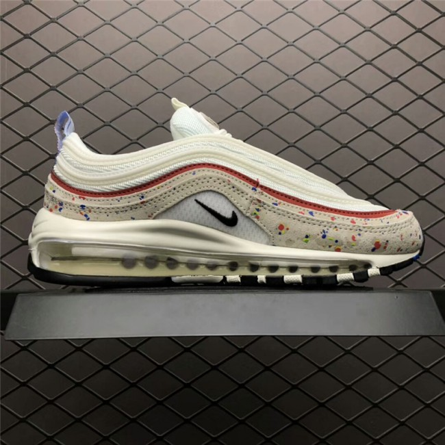 Mens/Womens Nike Air Max 97s Paint Splatter 312834-102 On Sale