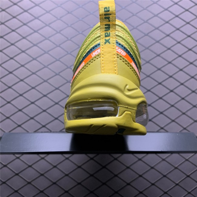 Mens/Womens Undefeated x Nike Air Max 97 OG Yellow Online Sale