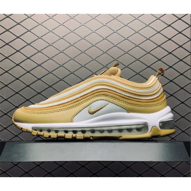Womens Nike Air Max 97 Wheat Club Gold Online Sale