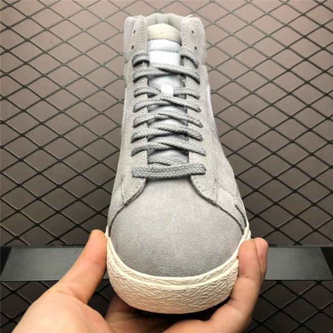 Mens/Womens Nike Blazer Mid Premium Medium Grey Neutral Grey