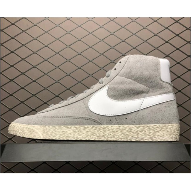 Mens/Womens Nike Blazer Mid Premium Medium Grey Neutral Grey