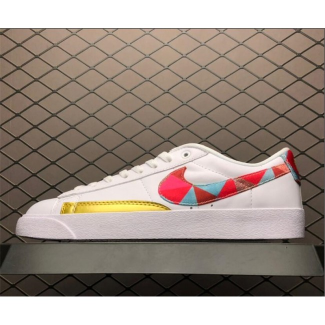 Mens/Womens Nike Blazer Low CNY White Multi-Color