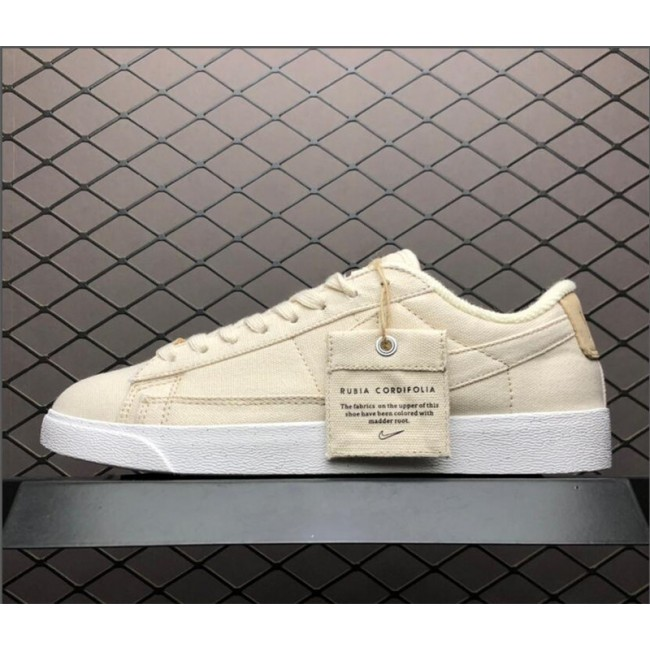 Mens/Womens Nike Blazer Low Plant Color Pale Ivory