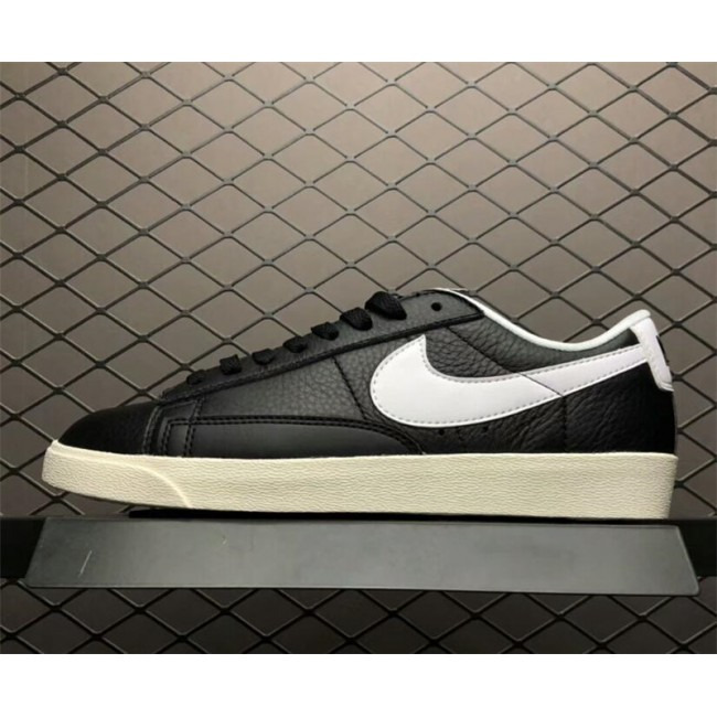 Mens/Womens Nike Blazer Low Black Ivory-White-Sail 454471-004
