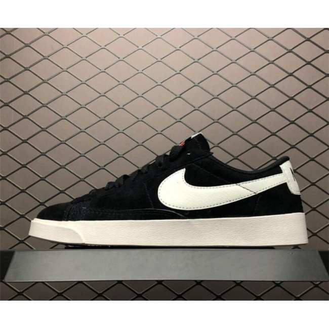 Mens/Womens Nike Blazer Low SD Black Sail AV9373-001
