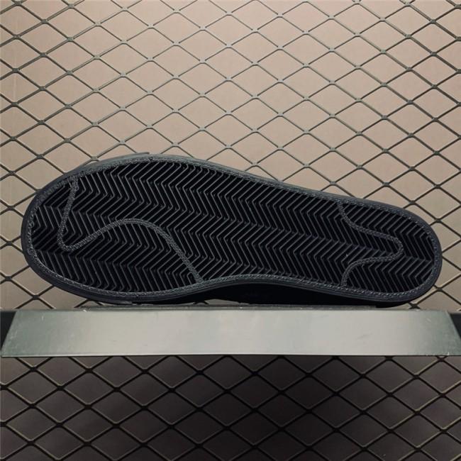 Mens/Womens Nike Blazer Low Patchwork Nike Logo Black Swoosh