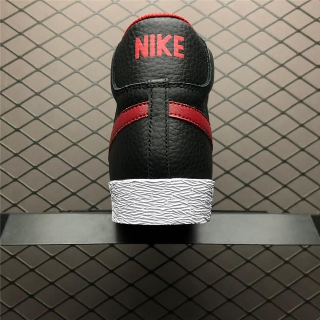 Mens/Womens Nike Blazer Mid PRM VNTG Black Gym Red-Bright Crimson