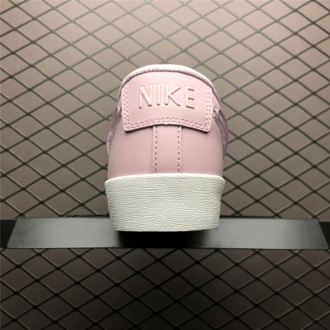 Womens Nike Blazer Low Jelly Swoosh Plum Chalk Pink White