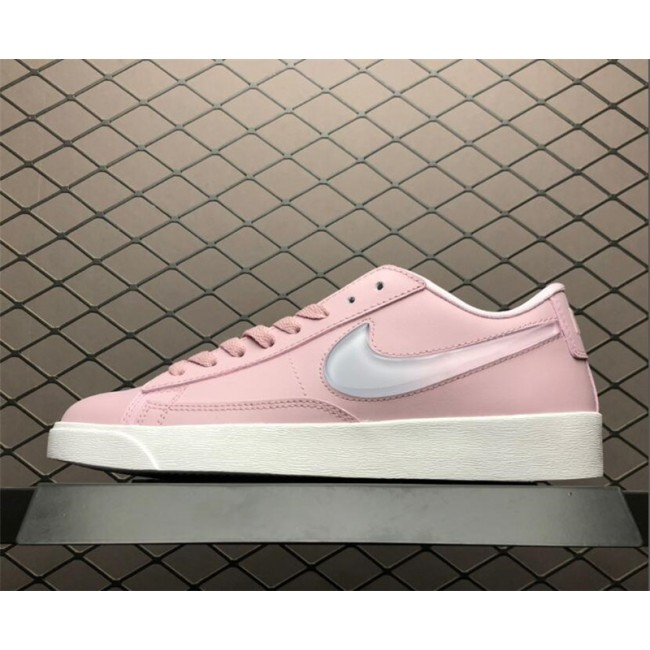 Womens Nike Blazer Low Jelly Swoosh Plum Chalk Pink White