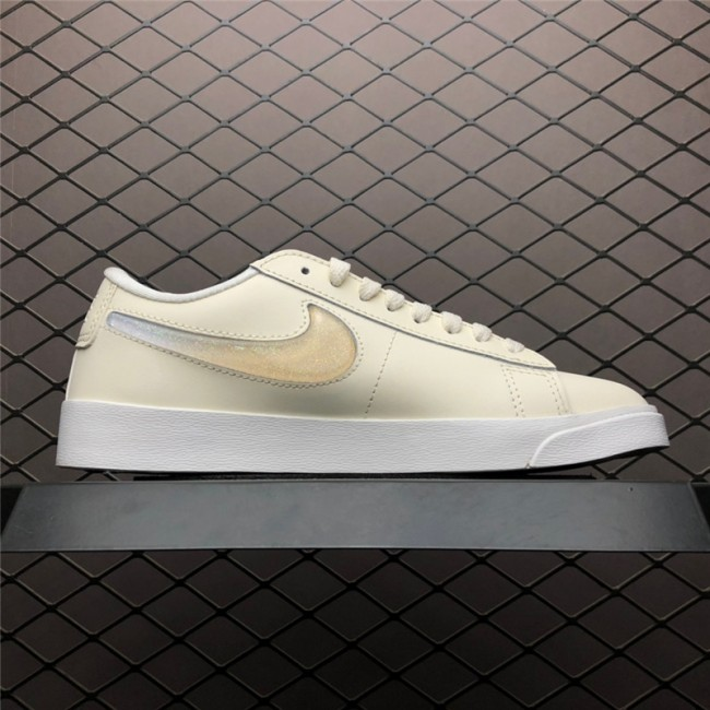 Womens Nike Blazer Low Lux Premium Pale Ivory Summit White Guava Ice