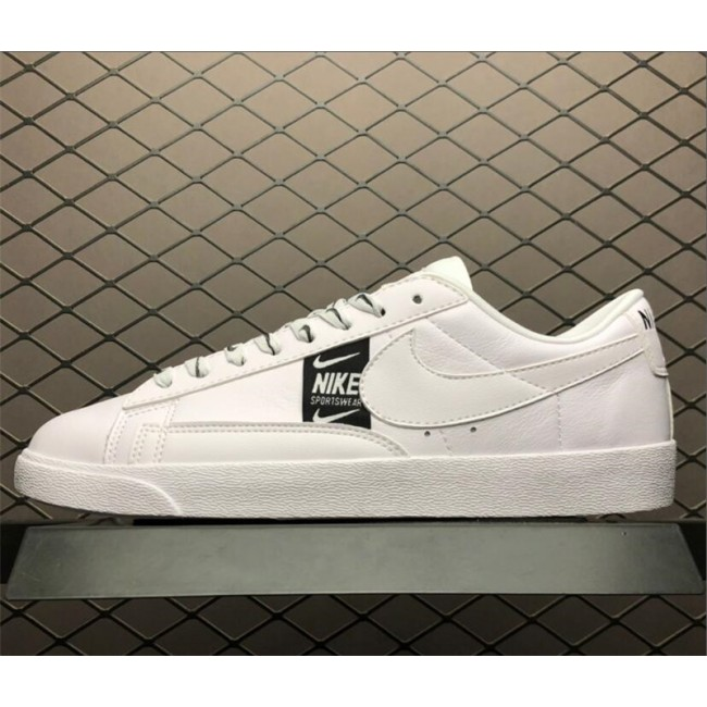 Mens/Womens Nike Blazer Low SE White Black AV9374-101