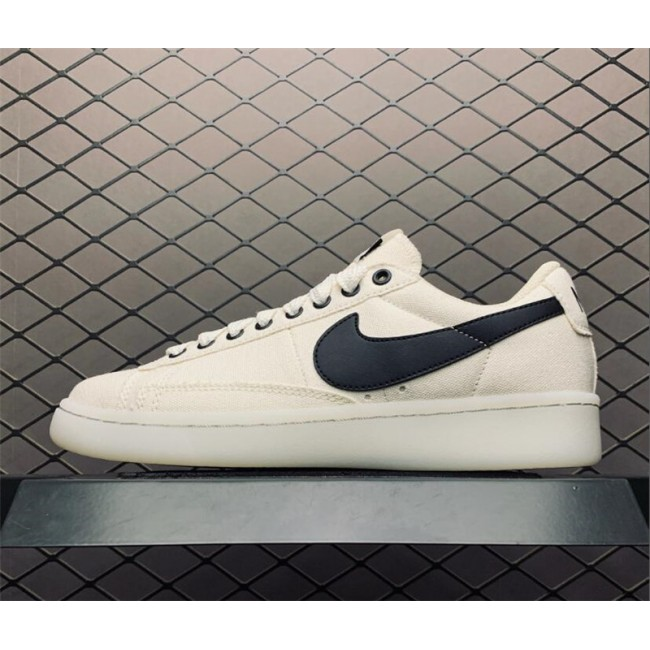 Mens/Womens Nike Blazer Low White Black Sneakers On Sale