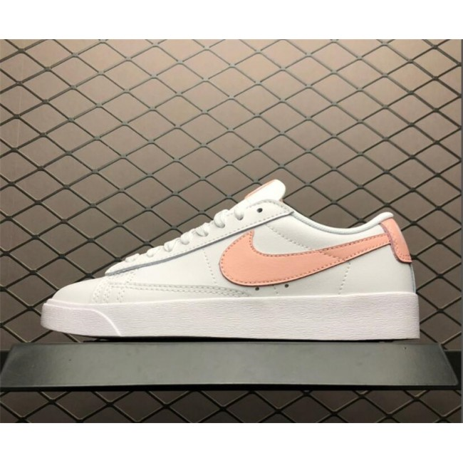 Womens Nike Blazer Low LE Storm Pink White Casual Shoes
