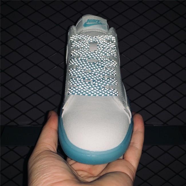 Womens Woman Nike Blazer Low Sky Blue White AV9371-118