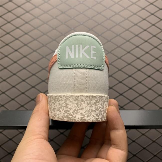 Womens Nike Blazer Low Beige Orange AV9371-605